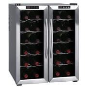 Sunpentown 24 Bottle Dual Zone Thermoelectric Wine Refrigerator