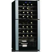 Koolatron Koolatron 45 Bottle Dual Zone Freestanding Wine Refrigerator