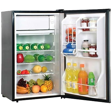 Magic Chef 3.6 Cu. Ft. Compact Refrigerator; Silver