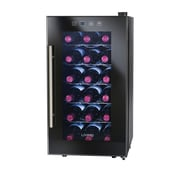 Nostalgia Electrics Living by Nostalgia 18 Bottle Single Zone Freestanding Wine Refrigerator