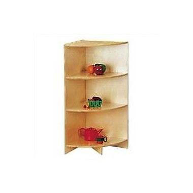 Jonti-Craft KYDZ Curves 35'' H Corner Bookcase