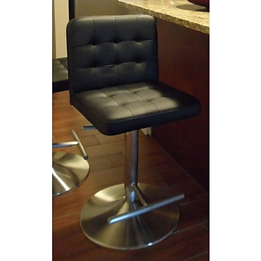 Matrix Dexter 23'' Adjustable Bar Stool ; Black