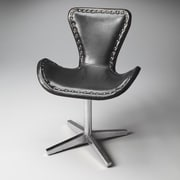 Butler Loft Midway Aviator Leather Swivel Chair