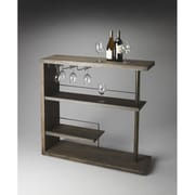 Butler Loft Broadway Modern Bar Shelf; Cocoa