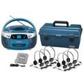 Hamilton CD / USB / MP3 Listening Center with HA2V Personal Headphones