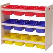 Steffy Dowel Tray Storage Rack