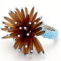 Debage Inc. Star Napkin Rings (Set of 4); Turquoise