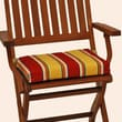 Blazing Needles Folding Chair Cushion (Set of 2); Vanya Paprika