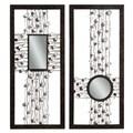 Bassett Mirror Bejeweled Panel Mirror (Set of 2)