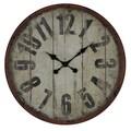 Cooper Classics Oversized 23.5'' Oleshia Wall Clock