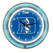 Wave 7 NCAA 14'' Team Neon Wall Clock; Duke