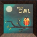 Artistic Reflections Night Owl Framed Graphic Art