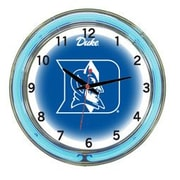 Wave 7 NCAA 18'' Team Neon Wall Clock; Duke