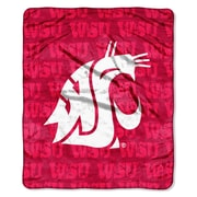 Northwest Co. College NCAA Washington State Micro Raschel Throw Blanket