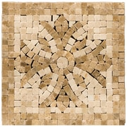 Emser Tile Natural Stone 4'' x 4'' Honed Marble Teatro Listello Corner