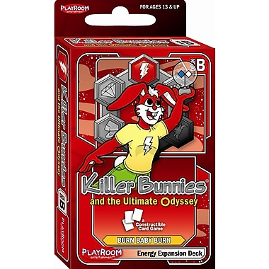 Playroom Entertainment Killer Bunnies Odyssey Energy B Booster Deck Game
