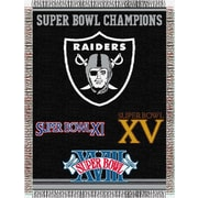 Northwest Co. NFL Oakland Raiders Commemorative Tapestry Throw