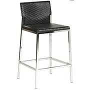 Bellini Modern Living Avanti 25'' Bar Stool; Brown