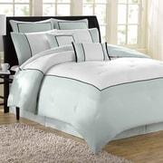 Soho New York Hotel 8 Piece Comforter Set; Full / Queen