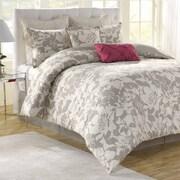 Soho New York Peony 8 Piece Comforter Set; Full / Queen