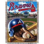 Northwest Co. MLB Atlanta Braves Tapestry Throw