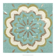 Evive Designs Rustic Tiles I by Chariklia Zarris Painting Print