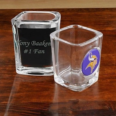 JDS Personalized Gifts NFL Shot Glass; Denver Broncos WYF078276168670