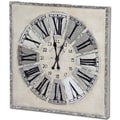 Applied Art Concepts Glastera 36.2'' Wall Clock