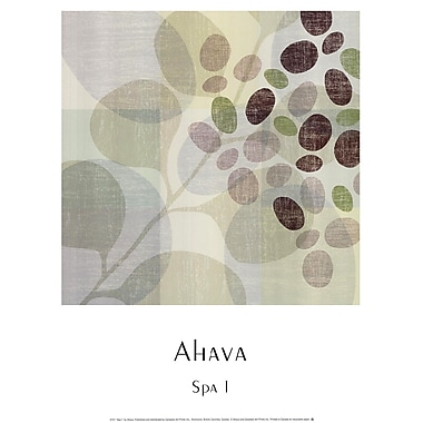 Evive Designs Spa I by Ahava Graphic Art