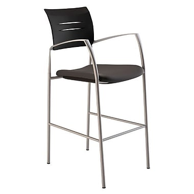 Compel Office Furniture Octiv Stool w/ Quattro Fabric Seat; Green