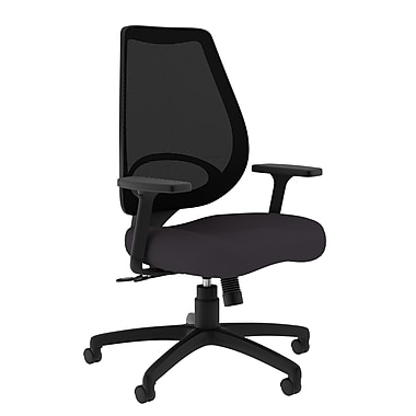 Compel Office Furniture Moda Mesh Task Chair with Arms; Granite