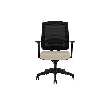 Compel Office Furniture Kudos Mesh Task Chair with Arms; Chalk