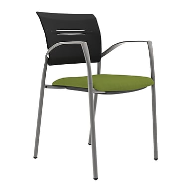 Compel Office Furniture Octiv Guest Chair with Arms; Green