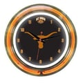 Wave 7 NCAA 14'' Team Neon Wall Clock; Texas