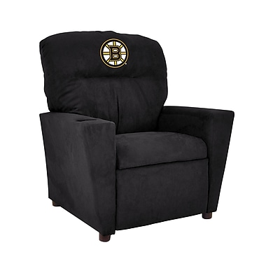 Imperial NHL Kids Recliner w/ Cup Holder; Boston Bruins