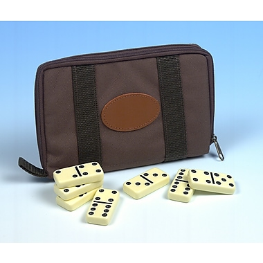 Drueke Double Six Dominoes Travel Set
