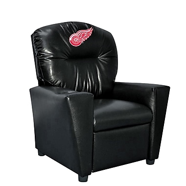 Imperial NHL Kids Recliner w/ Cup Holder; Detroit Redwings