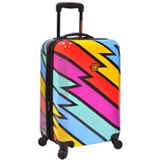 Loudmouth Luggage Captain Thunderbolt 22'' Hardsided Carry-On Spinner Suitcase