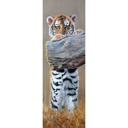 iCanvas ''Tiger Cub Standing up'' Panoramic Canvas Wall by Pip McGarry; 36'' H x 12'' W x 1.5'' D