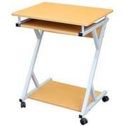 Hodedah Computer Desk; Beech