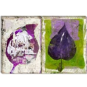 iCanvas ''#2 Color Leaves'' by Luz Graphics Graphic Art on Canvas; 26'' H x 40'' W x 1.5'' D