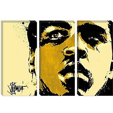 iCanvas 'Eyes of the World' by Muhammad Ali Painting Print on Canvas; 12'' H x 18'' W x 0.75'' D