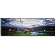 iCanvas Panoramic Hot Air Balloons, Snowmass, Colorado Photographic Print on Canvas