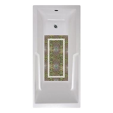 No Slip Mat by Versatraction 14 x 27 Dolsen Peacock Bath Mat
