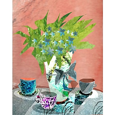 Evive Designs Floral Still Life by Holly Mcgee Painting Print