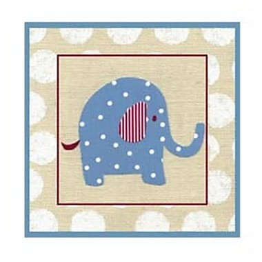 Evive Designs Katherine's Elephant Paper Print