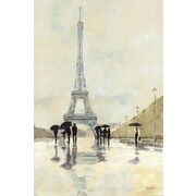 Evive Designs April in Paris by Avery Tillmon Painting Print