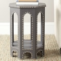 Safavieh Nara Stool; Grey