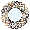 Hazelwood Home Round Wall Mirror