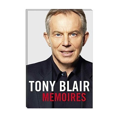 iCanvas Political Tony Blair Book Cover Photographic Print on Canvas; 18'' H x 12'' W x 1.5'' D